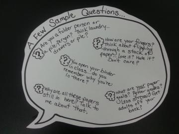 Binder Questions
